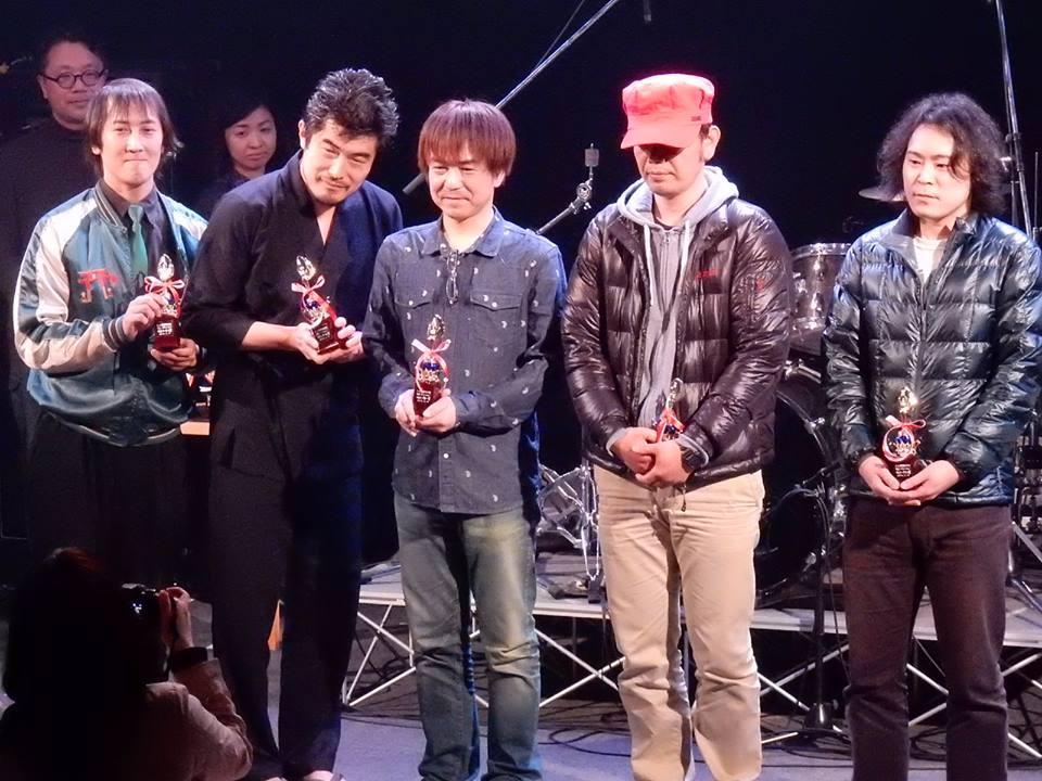 キモトシゲル 2015/03/15 K-Mix : 撮影:三井まさよし
